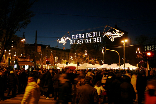 The Milan Christmas Market