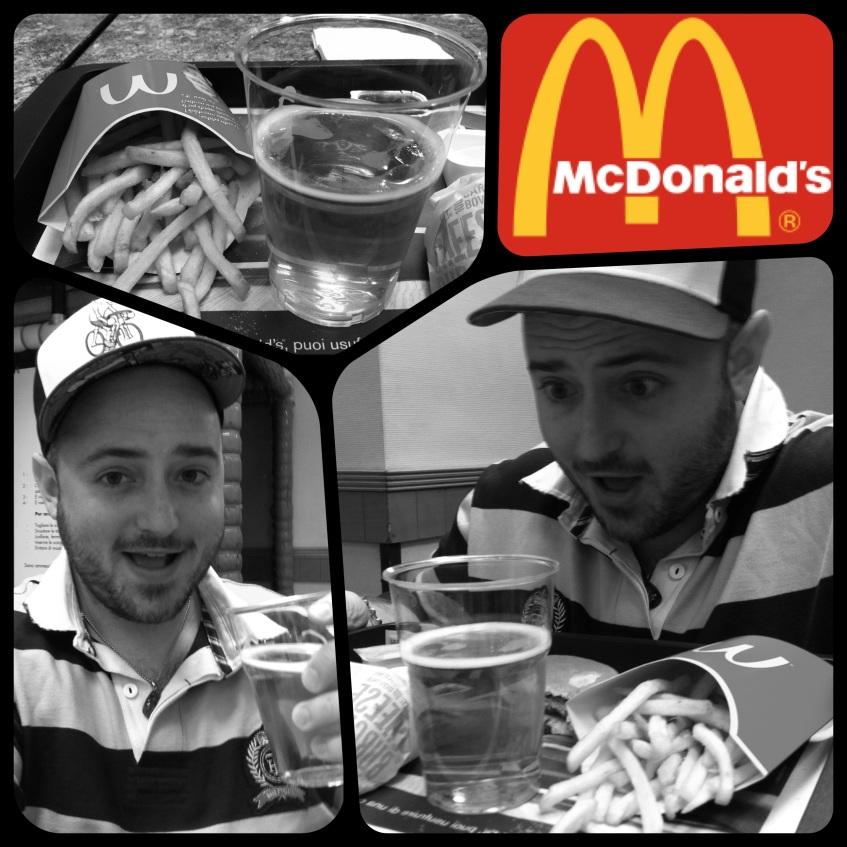 Beer at McDonald's