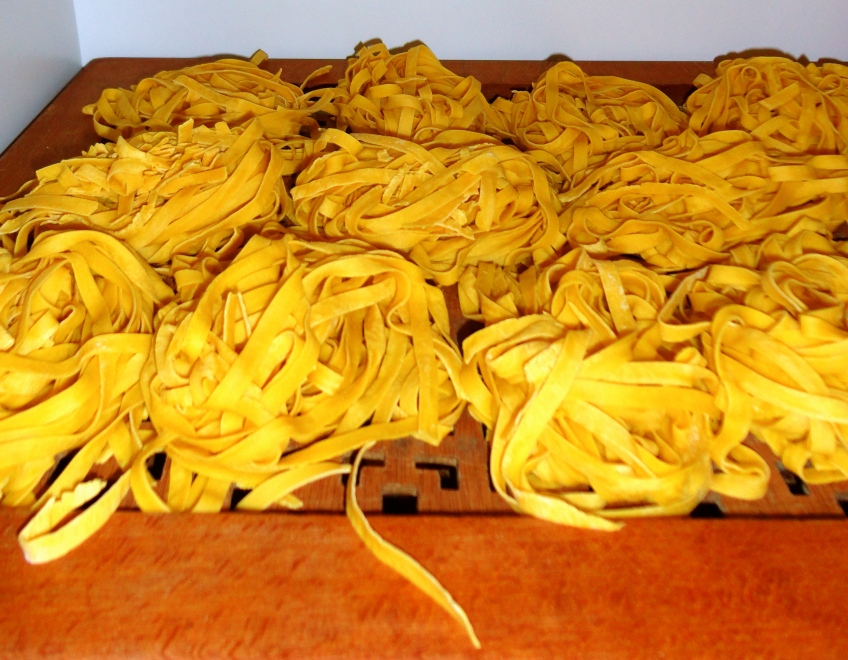 Fresh, homemade pasta