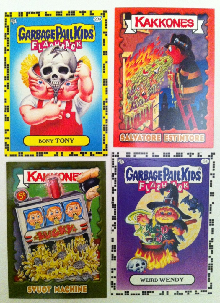 Garbage Pail Kids - American and Italian