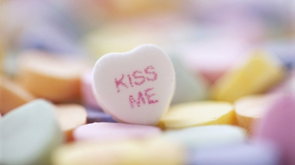 Kiss Me Candy Heart