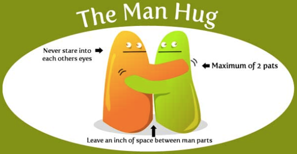 Man Hug Rules