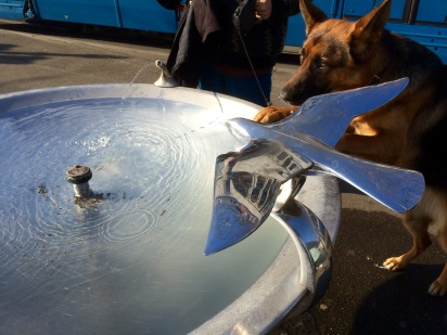 Bird-Airplane Fountain