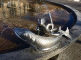 Ride-A-Fish Fountain